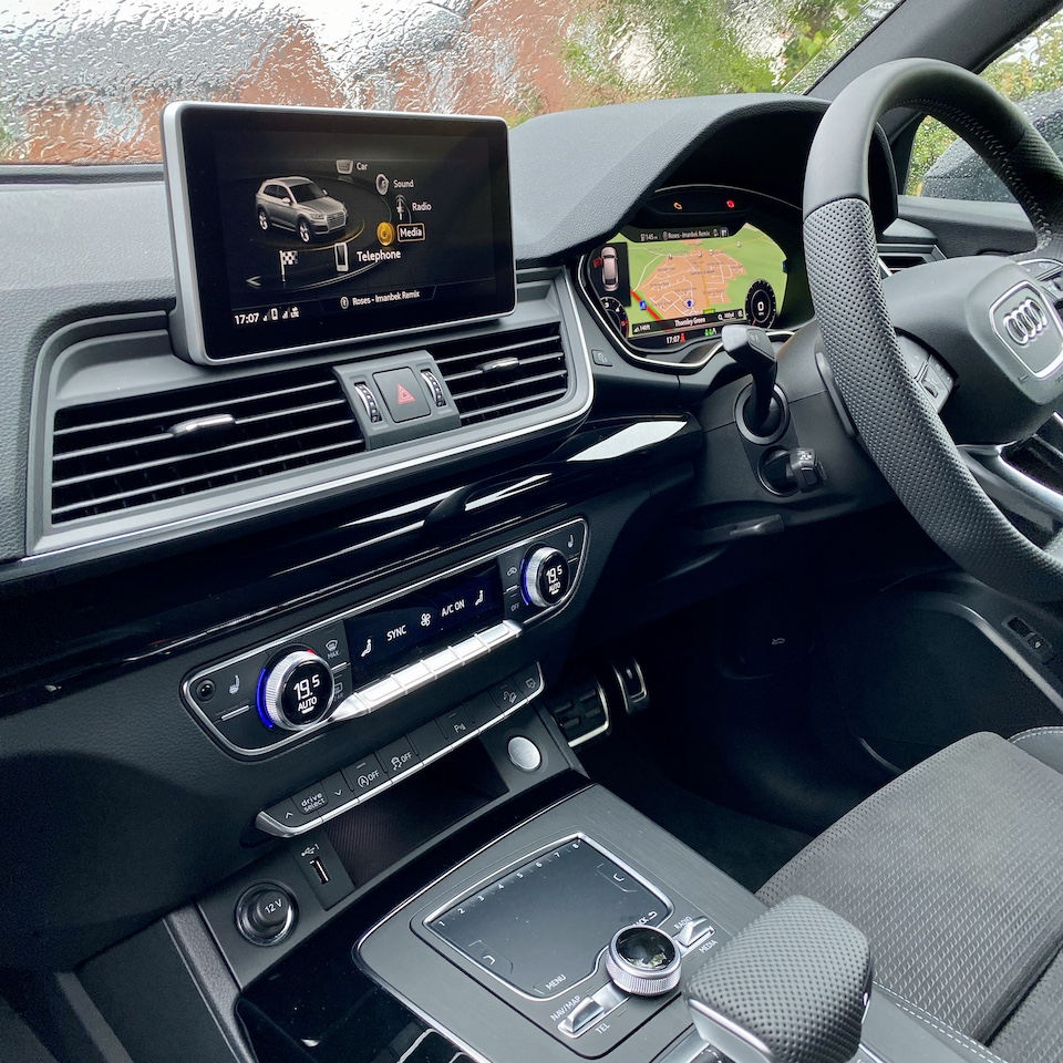 A look inside the Audi Q5